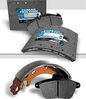 Тормозные колодки и накладки для грузовых авто и полуприцепов