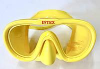 Маска для плавания силиконовая INTEX, фото 1