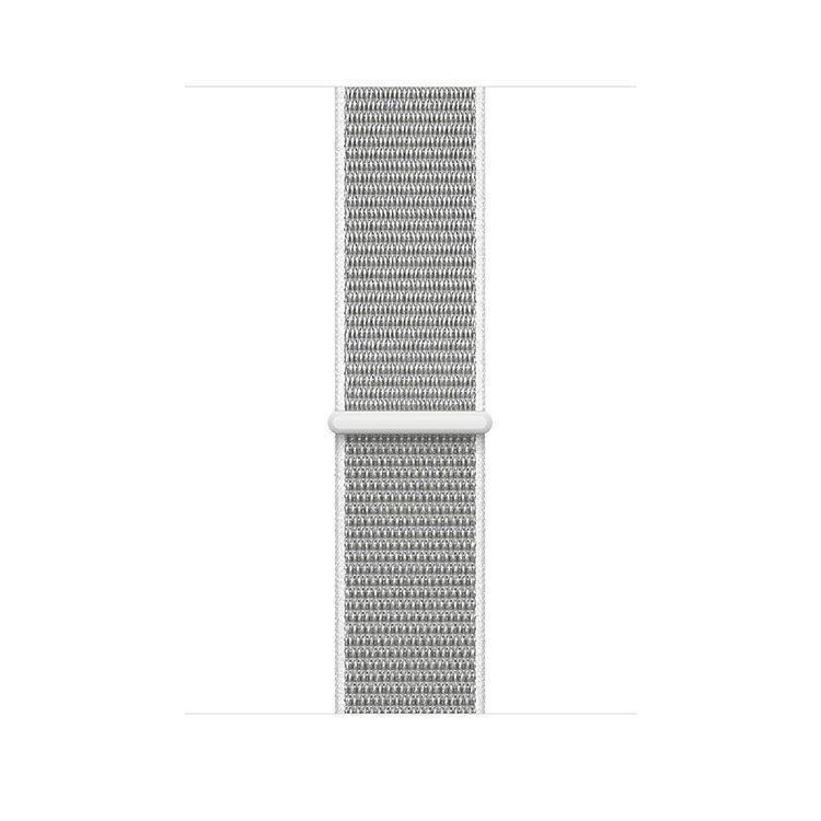 Ремешок Apple Watch 42 Текстиль Серебристый Sport Loop