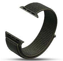 Ремешок Apple Watch 42/44mm Nylon Sport Loop olive, фото 3