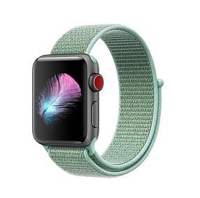 Ремешок Apple Watch 42/44mm Nylon Sport Loop turquoise, фото 2
