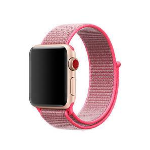 Ремешок Apple Watch 42/44mm Nylon Sport Loop pink, фото 2