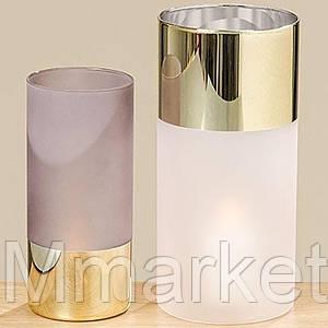Набор ваз настольных для цветов лакированное стекло 480137
