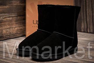 Зимние угги на меху  Ugg Australia, черные (3200-1),  [  34 (последняя пара)  ]