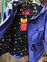 Модная детская ветровка с ЛОЛ для девочек 3 - 7 лет. Цвет малина, фото 6
