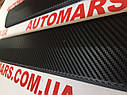 Накладки на внутренние пороги Volkswagen Caddy (Карбон), фото 2