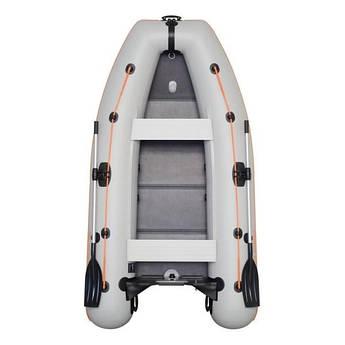 Надувная моторная лодка Kolibri КМ-300DL Лайт с пайолом слань-книжка