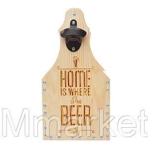 Ящик-корзинка для 6 бутылок пива 0,5л. 040180 ясень Home...