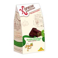 "Шоколадные конфеты-желе Насолода ""Корисна Кондитерська"" без сахара, 150 г"