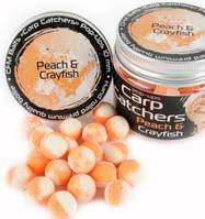 Бойлы pop-up Carp Catchers «Peach&Crayfish» Ø10мм, 35 шт/уп