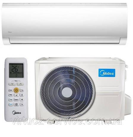 Инверторный кондиционер Midea Blanc DC Inverter HB MA-24N1D0H-I/MA-24N1D0H-O, фото 2