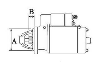 Стартер трактор Dong Feng 354, Foton 404, JINMA-404, ДТЗ-454(QDJ1332), фото 3