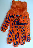 Перчатки х/б, оранжевый BUDOWA (61501004)