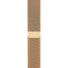 Ремешок Apple Watch 42/44mm Milanese Loop gold, фото 3