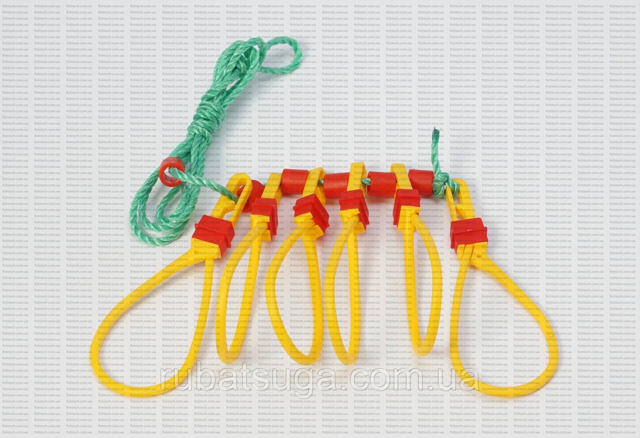 Кукан пластиковый AQUATECH (на 6 крючков)