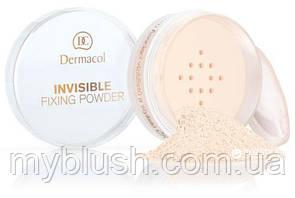 Фиксирующая рассыпчатая пудра Dermacol Invisible Fixing Powder 13 g