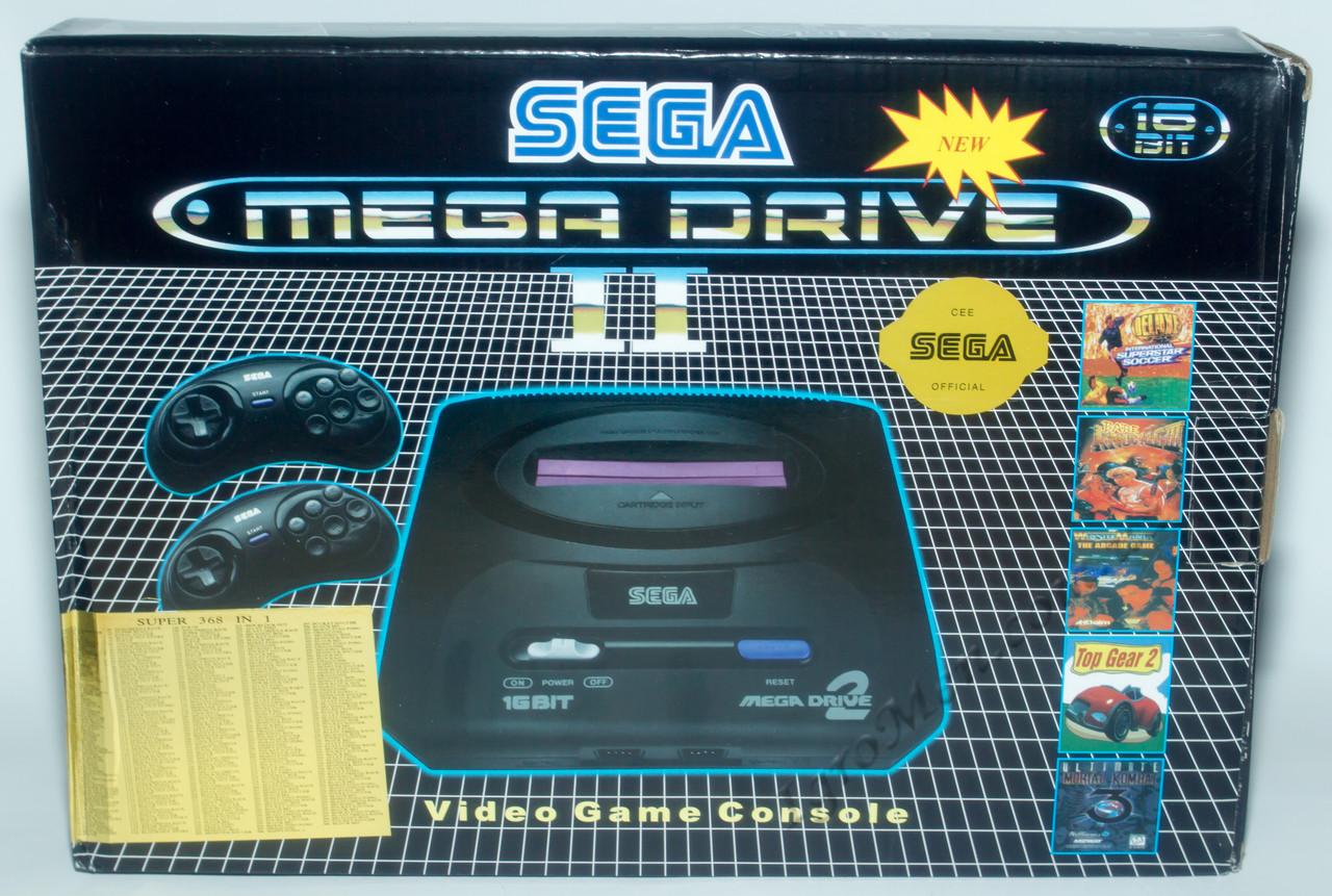Sega Mega Drive 2 (+5 игр)