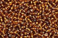 Бісер Preciosa Чехія №17090, золотий коричневий, блискучий