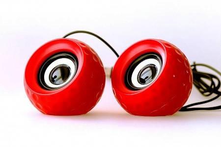Акустичні колонки Havit HV-SK486 USB red, фото 2