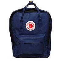 Модный рюкзак, сумка Fjallraven Kanken Classic, канкен класик. Темно-синий, dark blue / 7107
