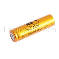 Аккумулятор 18650-6800mAh, золотой