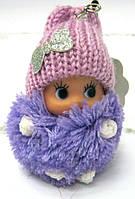 Брелок Кукла вязаная