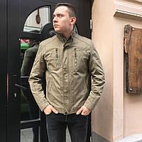 Куртка ветровка парка Мужская весна осень лето тонкая короткая классика