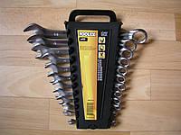 Набор ключей рожково-накидных CrV сатин 12 шт.