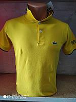Футболка Поло LAKOCTE жёлтая оптом, фото 1