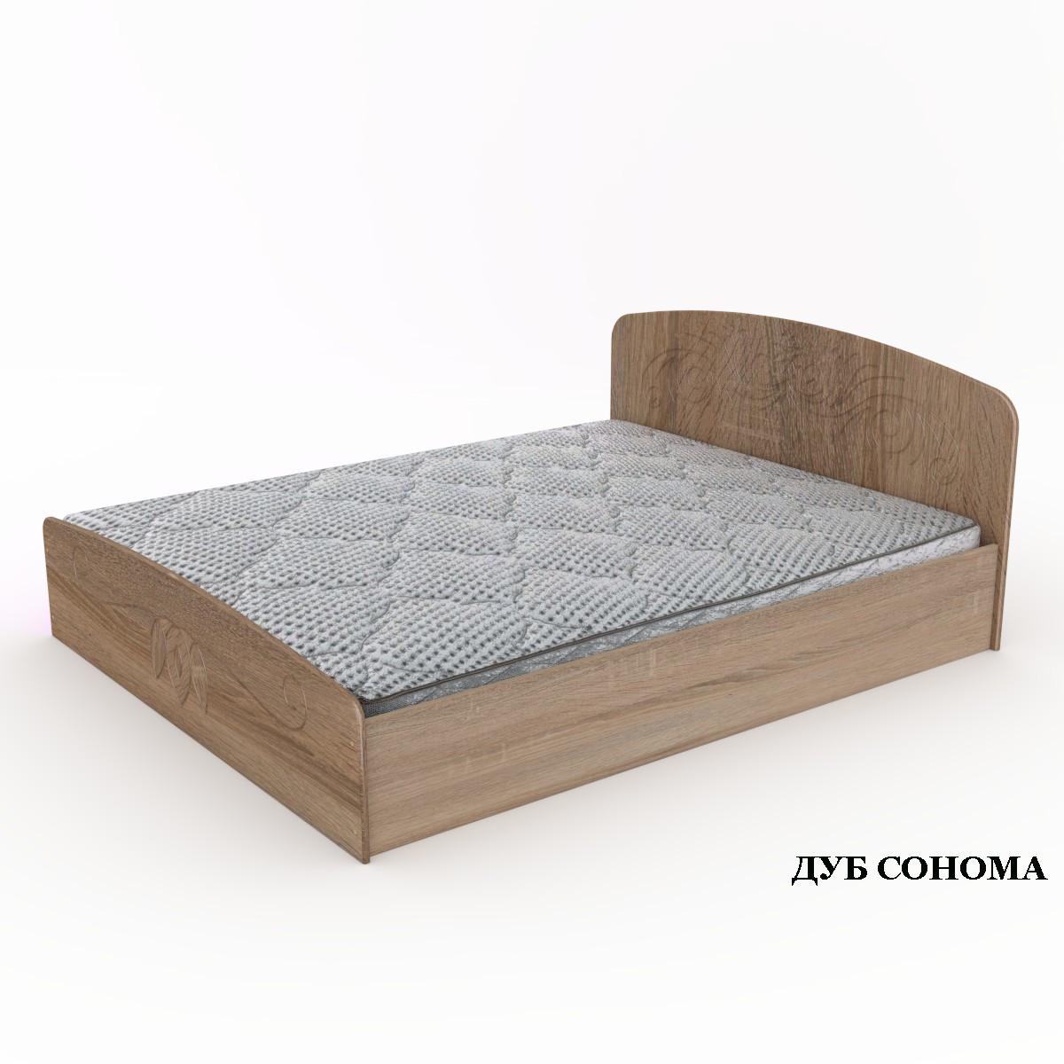 """Кровать """"Нежность""""-140 МДФ. Компанит"""