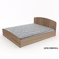 """Кровать """"Нежность""""-140 МДФ. Компанит, фото 1"""