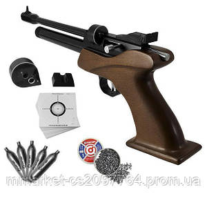 Пневматичний пістолет CP1-M Multi-shot CO2 4.5 mm