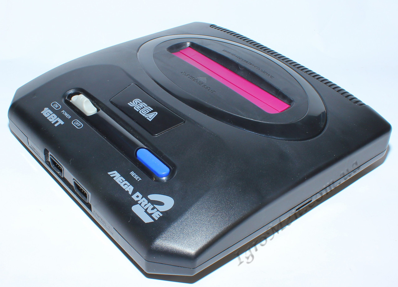 Sega Mega Drive 2 (поддержка карт MicroSD, +9 игр)