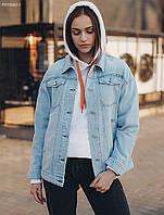 Женская джинсовая куртка Staff oversize Pepa, фото 1