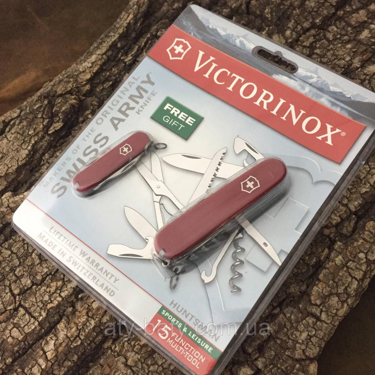 Набор ножей Victorinox Huntsman 1.3713 + Rally 0.6163 (Уценка)