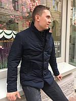Куртка ветровка мужская классика весна осень на синтепоне классика молодежка