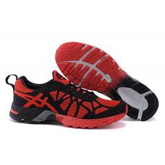 Чоловічі кросівки Asics Flyknit Gel-Noosa TRI9 чорно-червоні