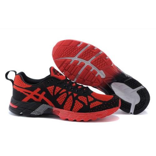 d50f2d1d Мужские кроссовки Asics Flyknit Gel-Noosa TRI9 черно-красные - SHOES-INTIME  в