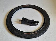 Покрышка на велосипед 18 дюймов. Генерал Черепашка Гладкая. Вело резина 18*2,125(57-355), фото 3