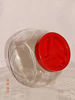 Банка для сыпучих продуктов с крышкой объёмом 2 л, фото 1