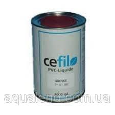 Рідкий ПВХ темно-блакитний Cefil, 1л, фото 2