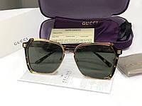 Женские солнцезащитные очки в стиле GUCCI (55934) leo, фото 1
