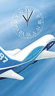 """Часы настенные стеклянные """"Вoeing-787"""", фото 1"""