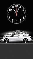 """Часы настенные стеклянные """"Audi A5 Coupe"""""""