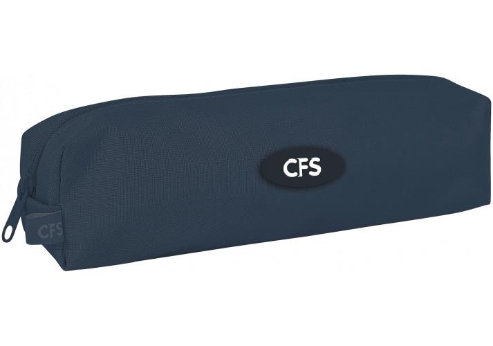 """Пенал """"CoolForSchool"""" """"Classic Dark Grey"""" CF85527"""