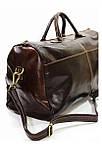 Дорожня сумка з натуральної шкіри, фото 4