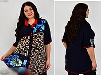 Рубашка женская летняя, с 52-68 размер, фото 1