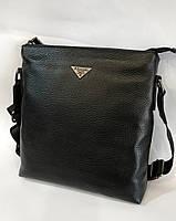 055fe6be087d Мужская кожаная сумка через плечо Prada реплика, сумка мессенджер, планшет.