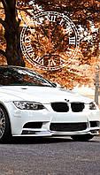 """Часы настенные стеклянные """"BMW M3"""", фото 1"""