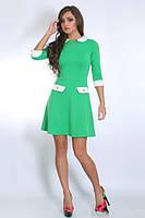Качественное летнее платье модного кроя для девушек